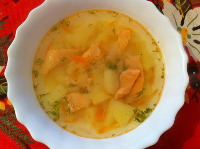 Рецепт супа без лука и моркови